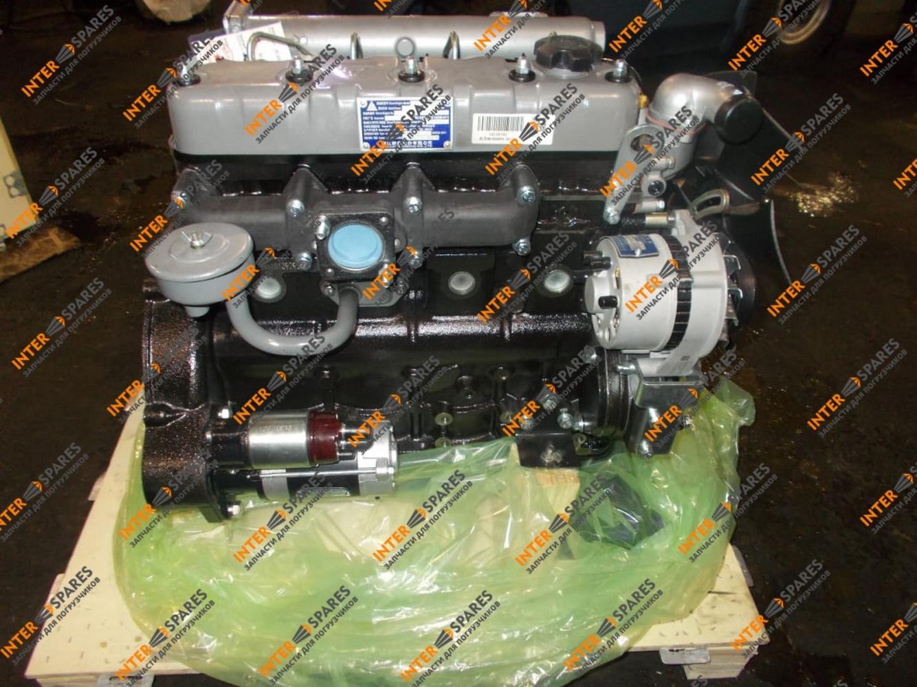 Двигатель в сборе Xinchai NC485BPG - 1